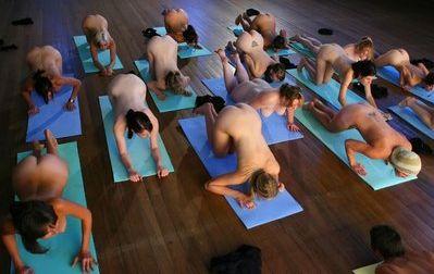 Naked Yoga Image: Wearetherealdeal.com